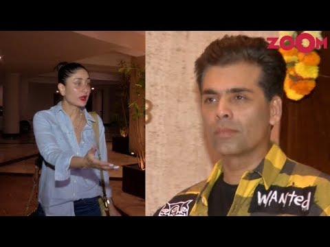 Kareena Kapoor Khan & Karan Johar spotted at Manish Malhotra House Party