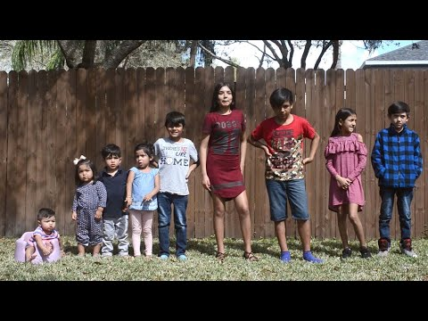 Family Adopt Nine Children To Keep Them Together