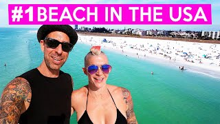 SIESTA KEY BEACH / Sarasota Florida! (Family Travel Vlog)