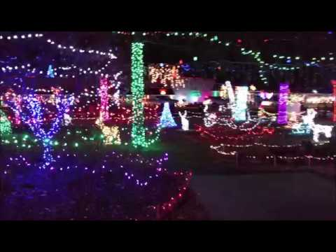christmas lights tulsa oklahoma december 2016 part 2 of 3 - Christmas Lights Tulsa
