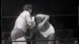 Crybaby Corby vs Don Lewin 1950's Wrestling Classic