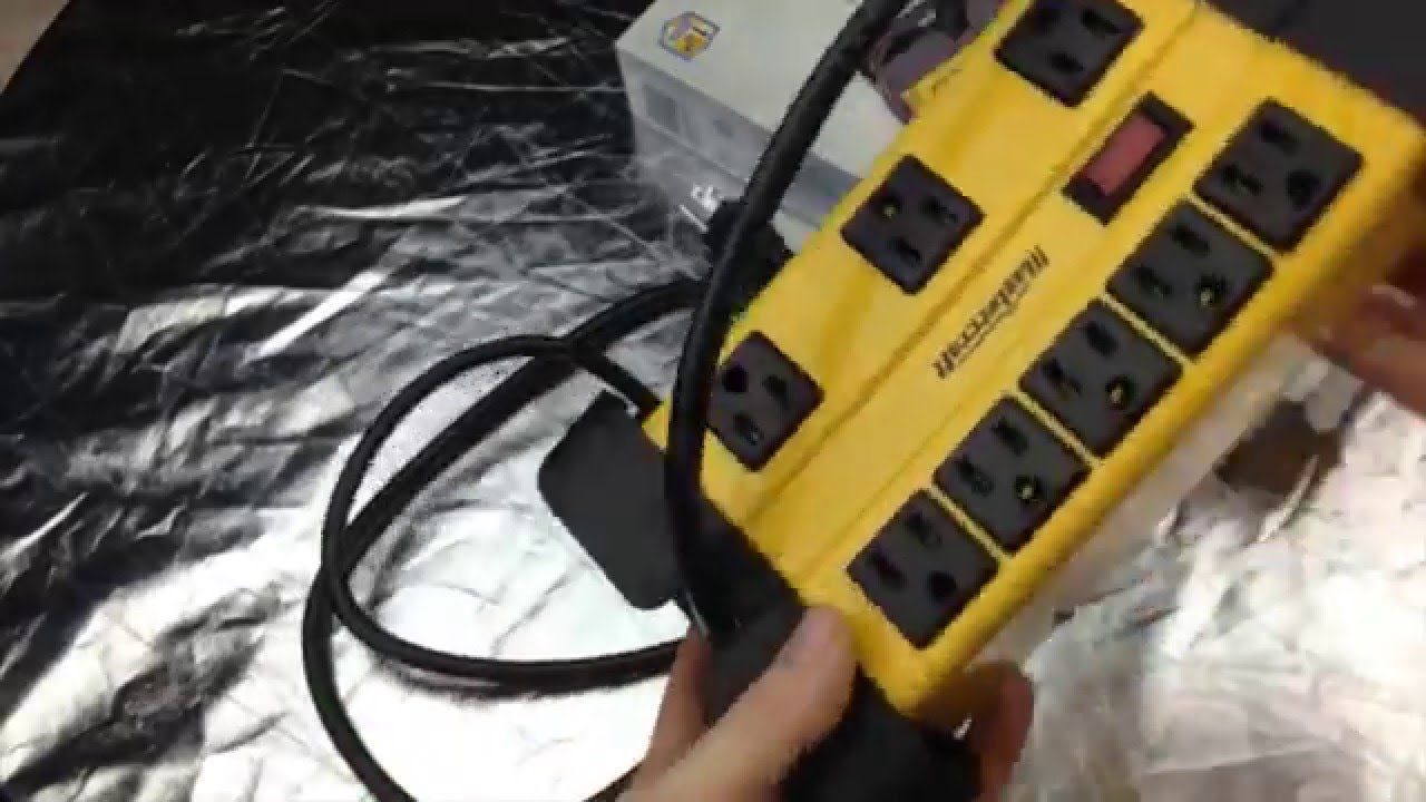 Mastercraft Contractor Power Bar 8 Outlet Unboxing Youtube Extension 25 Ft Cord Reel 4 12 Amp Construction Circuit