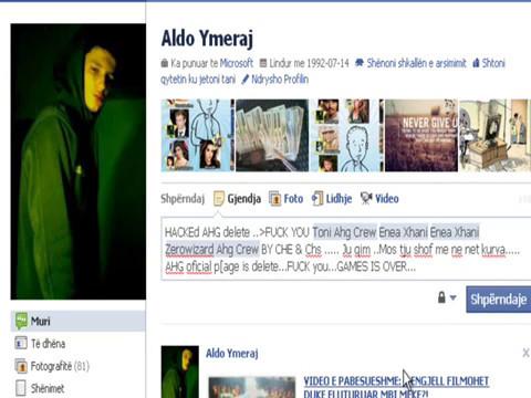 Fundi i AHG (Albania Hackers Grup)
