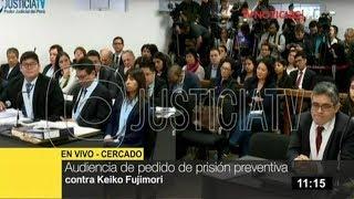Suspenden audiencia de prisión preventiva contra Keiko Fujimori y otros 11 investigados