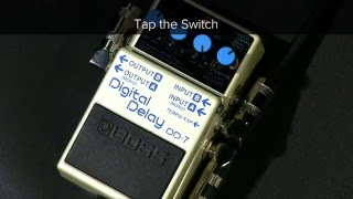 ES-5 Quick Start Chapter 8: Using the External Footswitch to Change the Delay Time