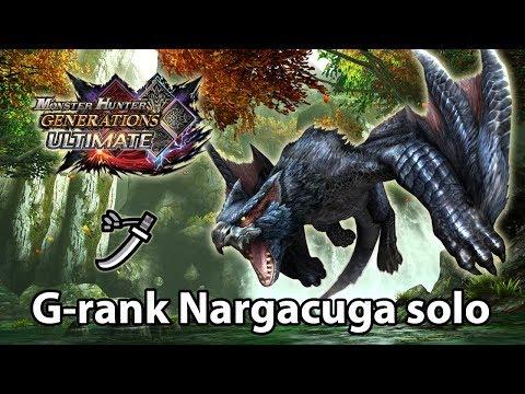 MHGU | G-rank Nargacuga solo (Valor Long Sword) - 337