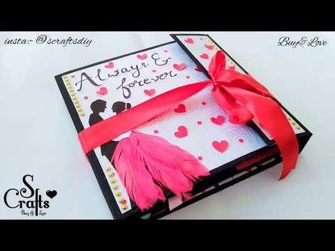 Scrapbook 💕 | Handmade | S Crafts | Anniversary Scrapbook | Customisable | gift ideas
