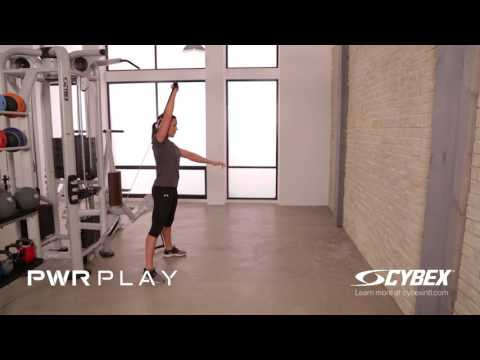 Cybex PWR PLAY - Squat with Overhead Press