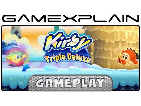 Kirby Triple Deluxe: Hypernova Kirby Gameplay (3DS)