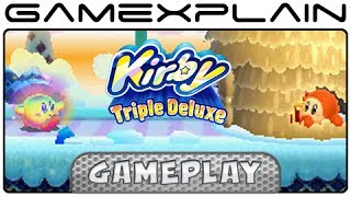 Kirby Triple Deluxe: Hypernova Kirby Gameplay (3DS)
