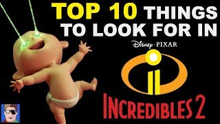 Top 10 Easter Eggs To Look For In Incredibles 2