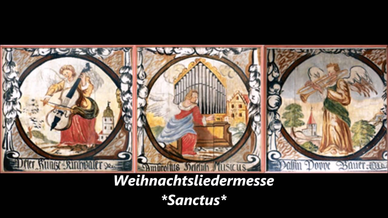 Weihnachtslieder-Messe von Josef Ács *SANCTUS* - YouTube