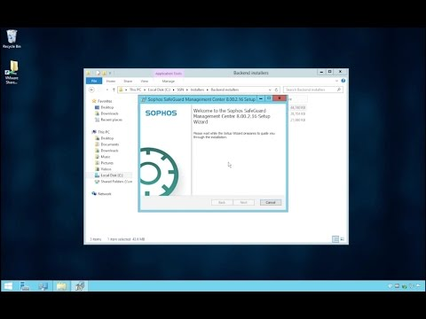 Sophos SafeGuard 8 | Proof of Concept Installation