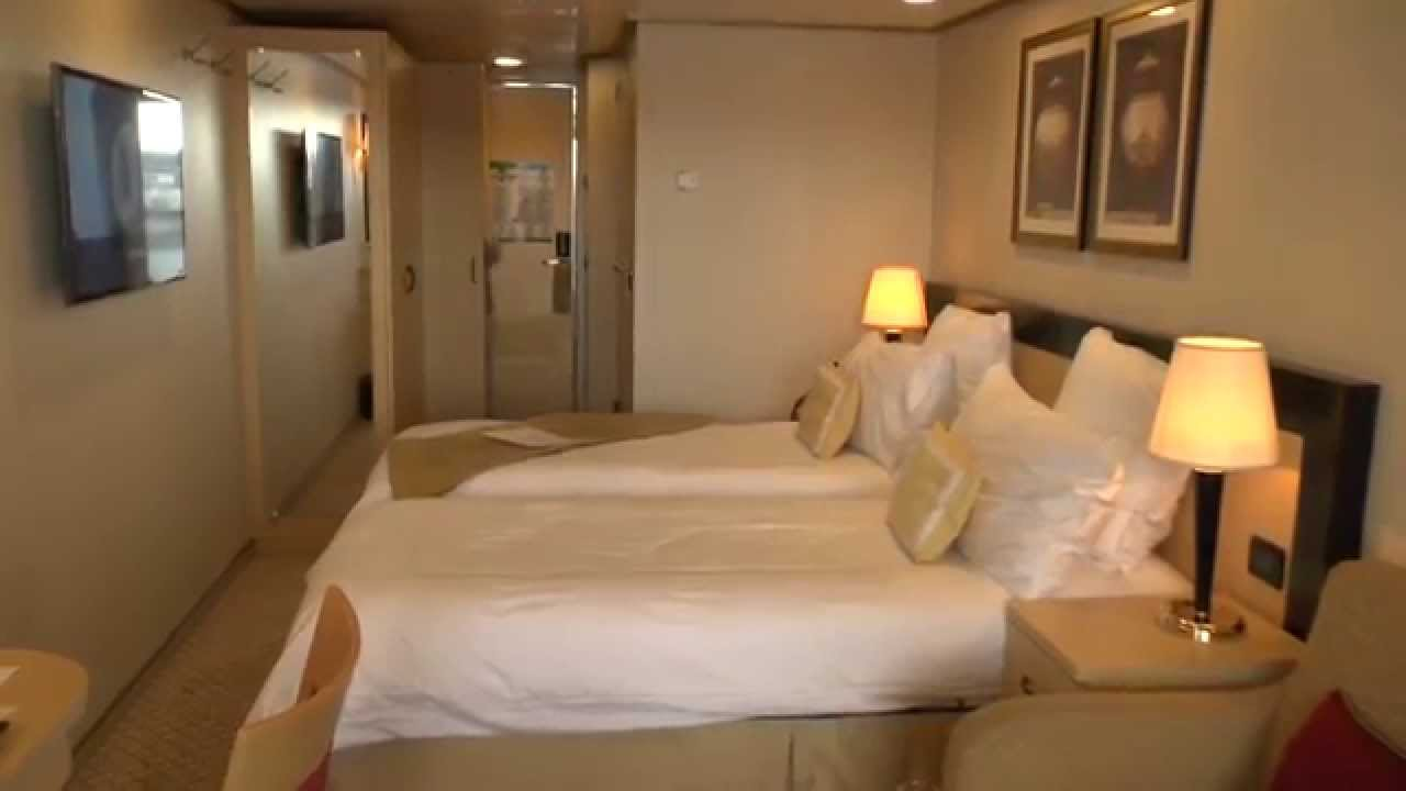 Cunard queen elizabeth 2014 hd part 1 balcony cabin ba for Queen on balcony