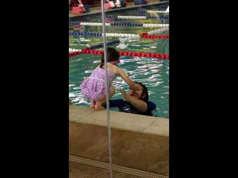 Sydney's swimming lessons