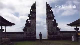 #JPRB- Indahnya Gunung Agung dari Pura Penataran Agung Lempuyang