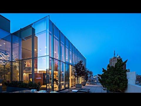 Unique Multi-Level Luxury Penthouse in New York, NY, USA