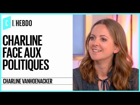 Charline Vanhoenacker face aux politiques - C l'hebdo - 18/03/2017