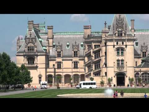 Largest Home In America - Biltmore Mansion [HD]