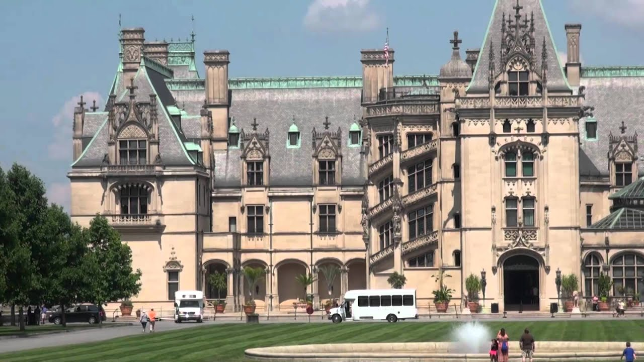 Largest home in america biltmore mansion hd youtube for Biggest house in usa