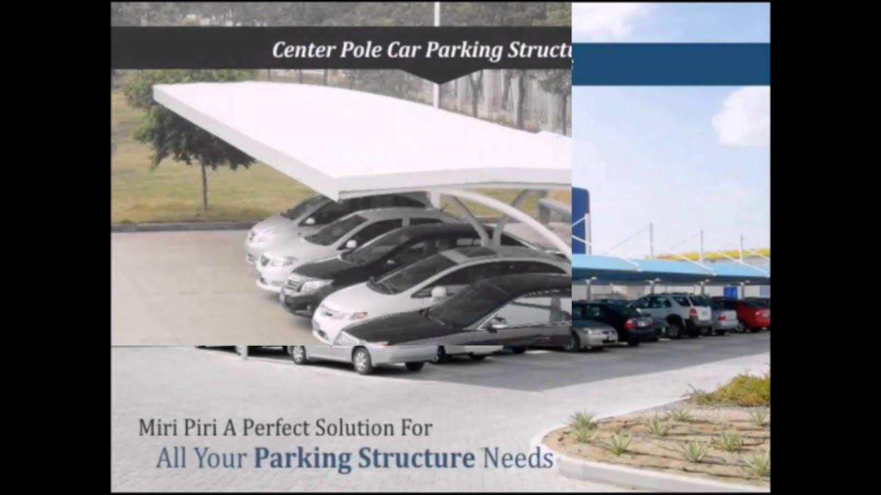 Design of car parking - Sheds For Car Parking Structures Are Strong Lightweight Portable Design Modulars Car Parks Delhi