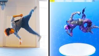 10 Most Viewed Fortnite DANCE CHALLENGES on Youtube | Chaos