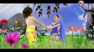 VIZHIYAZHAKU POZHIYUM RADHA ●● AMBULIKKANNAN ●● Hindu Devotional Song Tamil ●● Guruvayoorappan Song
