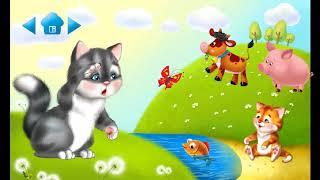 Развивающие игры для детей. Мамы и детеныши. Учим животных.