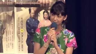 NHK木曜時代劇『かぶき者 慶次』記者試写会が3月24日に行われました。 2...