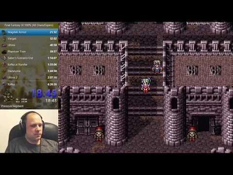 Final Fantasy VI Speedrun (Glitchless 100%) - 6:17:38