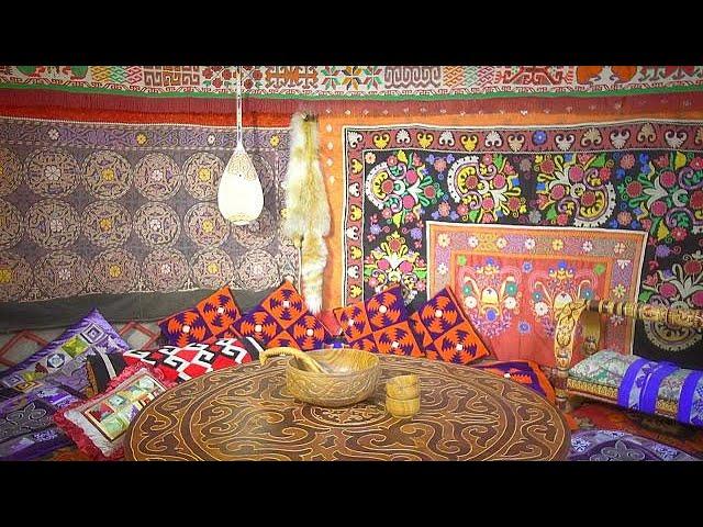 Казахские ремесленники научат молодых не забывать