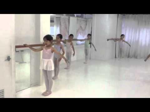 小学1年から4年生のバレエクラス