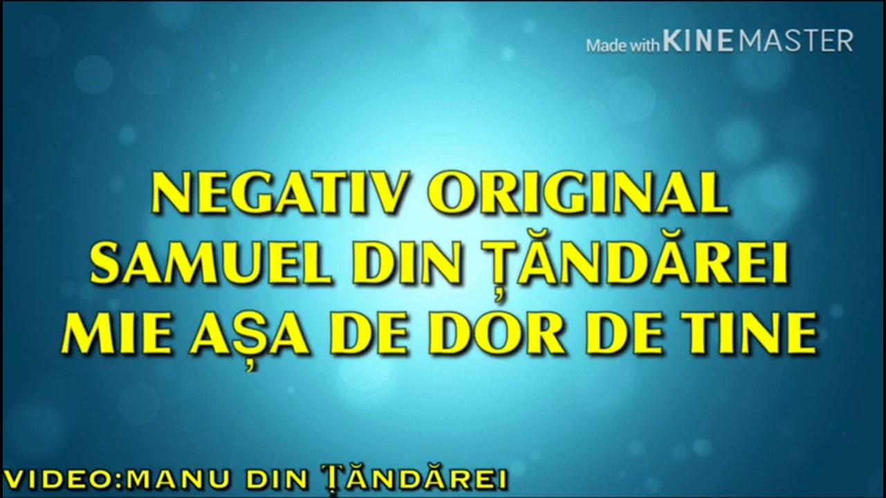 Download NEGATIV & VERSURI - MIE ASA DE DOR DE TINE