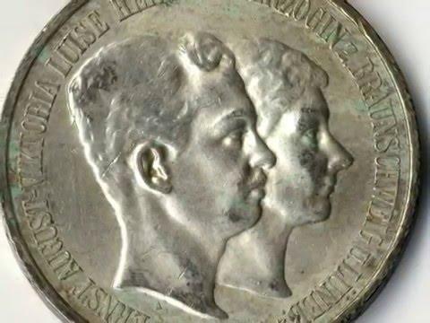 Wertvolle Münzen Aus Dem Kaiserreich 5 Mark Braunschweig Lüneburg