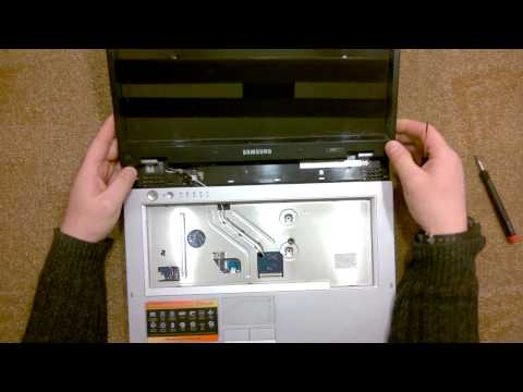 Как разобрать Ноутбук Samsung R40 Plus ( Samsung R40 Plus Disassembly. How To Replace HDD, RAM)