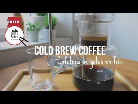 Cafe Taiwanes en Cafetera de Goteo en Frío / COLD BREW COFFEE
