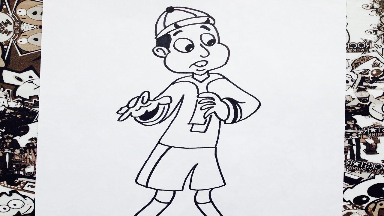 Como Dibujar A Quico Animado