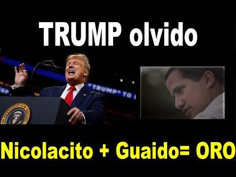 TRUMP 1 hora 20 Venezuela ★★ Nicolacito oro África con GUIADÓ corrupción★★ familia MADURO se seca ★★