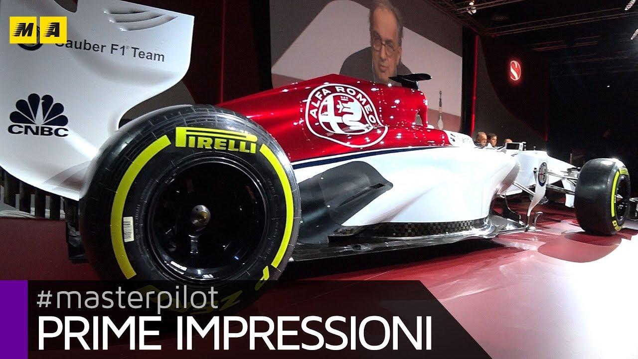 Alfa Romeo Sauber F1 2018 - ECCOLA! Piloti? Leclerc - Ericsson