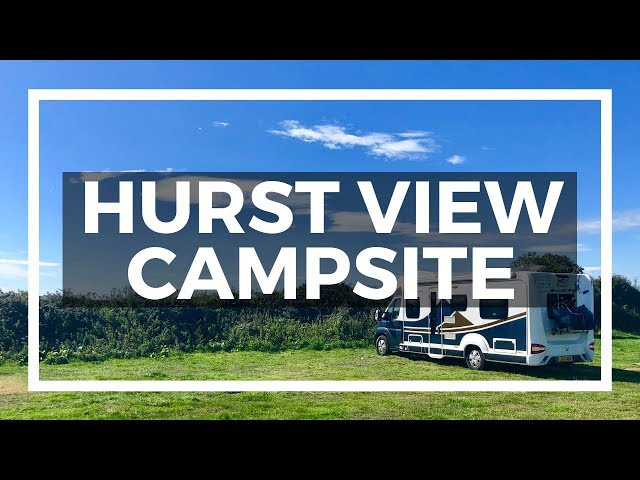 Hurst View campsite review - The best New Forest campsite for motorhomes, dogs & campfires??