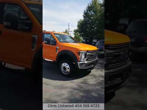 2019 Ford F-550 Cab and Chassis