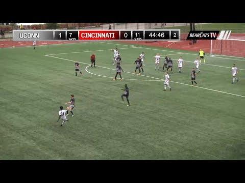Men's Soccer Recap: Cincinnati 0, UConn 1
