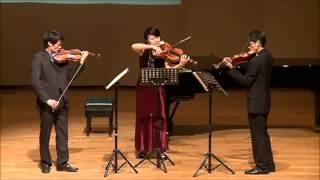 Kodaly Serenade for Two Violins and Viola, Op  12