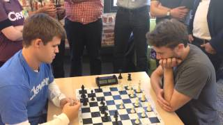 Magnus Carlsen vs Seth Bannon (blitz)