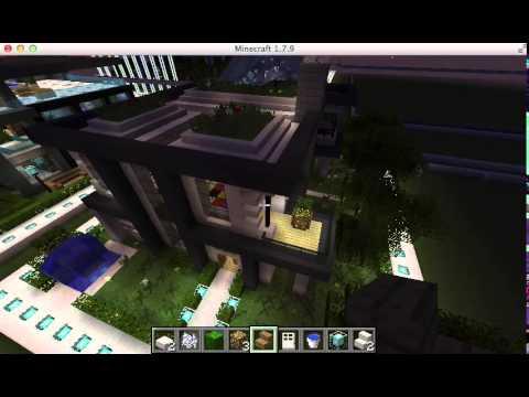 Minecraft concurso haz tu propia casa en ciudad futurista - Haz tu propia casa ...