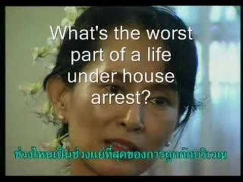 What Aung San Suu Kyi once told me...