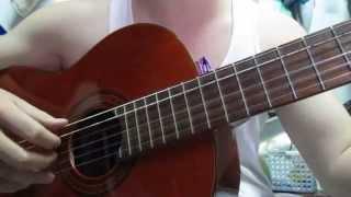 vệt nắng cuối trời - guitar cover - tự sướng trước bình minh