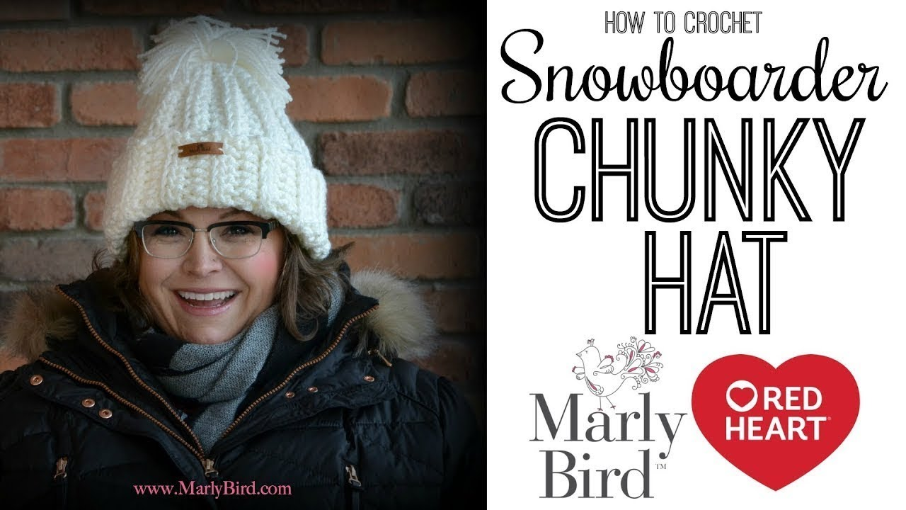 How to Crochet Snowboarder Chunky Hat - YouTube 50418478440
