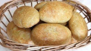 Пирожки на кефире без дрожжей и яиц