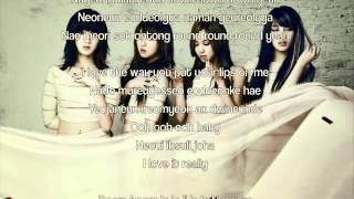 Miss A - Lips (Rom. Lyrics) (English Lyrics in Description)